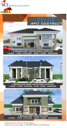 5 bedroom Detached Duplex House for sale Apo district Apo Abuja