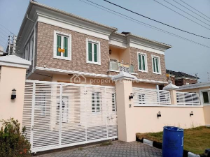 5 bedroom Detached Duplex House for rent Kazeem Eletu Way Osapa London, Osapa london Lekki Lagos