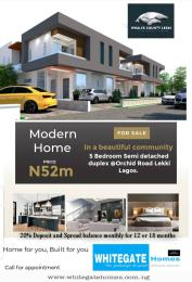 5 bedroom Semi Detached Duplex House for sale Second toll gate, Orchid Hotel Road chevron Lekki Lagos