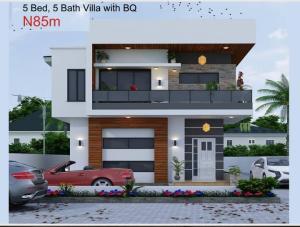 5 bedroom Detached Duplex House for sale Eleko Beach Road Eleko Ibeju-Lekki Lagos