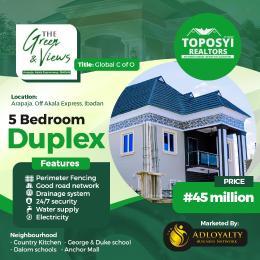 5 bedroom Detached Duplex House for sale Akala Express Ibadan Oyo