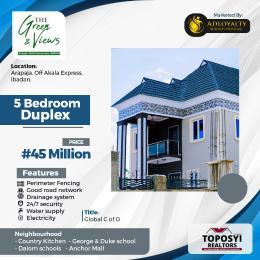 5 bedroom Detached Bungalow House for sale arapaja Akala Express Ibadan Oyo