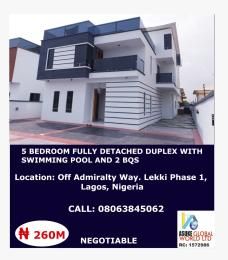 5 bedroom House for sale Off admiralty way lekki phase 1,Lagos Nigeria Lekki Lagos