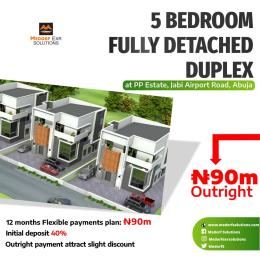 5 bedroom Detached Duplex House for sale Airport road Jabi Abuja