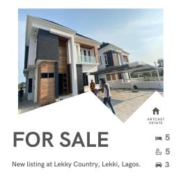 5 bedroom Detached Duplex for sale Lekki County, Megamound Ikota Lekki Lagos