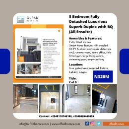 5 bedroom Detached Duplex House for sale Off Mobolaji Johnson estate road Lekki Phase 1 Lekki Lagos