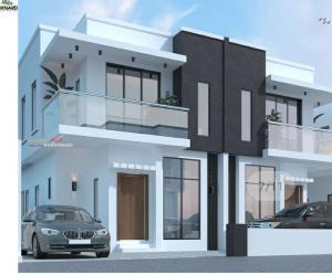 5 bedroom Semi Detached Duplex House for sale Pinnock Beach Estate axis  Agungi Lekki Lagos