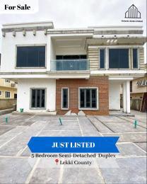 5 bedroom Semi Detached Duplex for sale Lekki County Ikota Lekki Lagos
