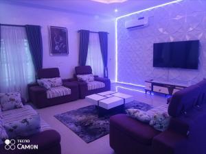 5 bedroom Detached Duplex House for shortlet Friend's Colony Estate Agungi Lekki Lagos