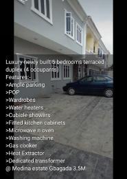 5 bedroom Terraced Duplex House for rent Medina estate gbagada Medina Gbagada Lagos