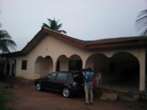 5 bedroom Detached Bungalow House for sale 5 bedroom with 2 rooms BQ on a 80 by 100 land size beside Mama Idahosa's House, Redemption Street, by Abuja quaters, GRA Benin City Oredo Edo