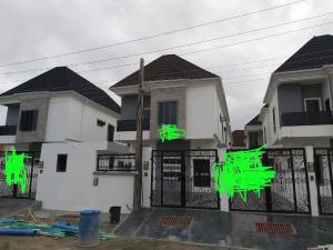 5 bedroom Terraced Duplex House for sale Dotun street Chevy view estate. Chevron chevron Lekki Lagos