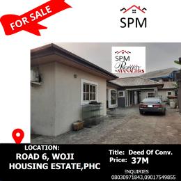 5 bedroom Detached Bungalow House for sale  Road 6, Woji Housing Estate, PortHarcourt Port Harcourt Rivers