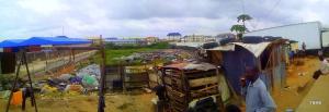 Land for sale Cele Bus Stop Along Oshodi Apapa Expressway Oshodi Expressway Oshodi Lagos