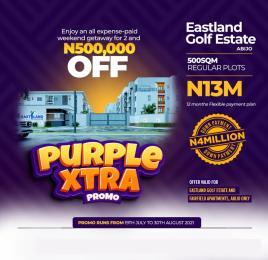 Land for sale Eastland Golf Estate, Abijo Lekki Eputu Ibeju-Lekki Lagos