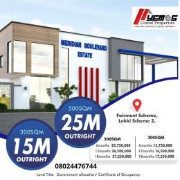 Residential Land Land for sale Meridian Boulevard Estate, Okun Ajah Okun Ajah Ajah Lagos