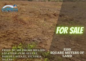 Mixed   Use Land Land for sale Femi Sule St. Dideolu Estate Victoria Island Lagos