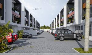 4 bedroom Terraced Duplex for sale Freedom Way Lekki Phase 1 Lekki Lagos