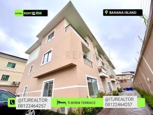 5 bedroom Terraced Duplex House for rent Banana island road Banana Island Ikoyi Lagos