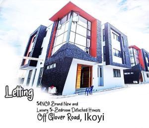 5 bedroom Detached Duplex for rent Off Glover Road, Ikoyi Lagos. Old Ikoyi Ikoyi Lagos