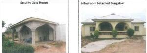 6 bedroom Detached Bungalow House for sale  BEHIND SAINT PETER CATHOLIC CHURCH, ETSU MUSA 480, GBAKO LGA, BIDA, NIGER STATE Bida Niger