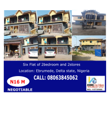 10 bedroom House for sale Ebrumede Warri Delta