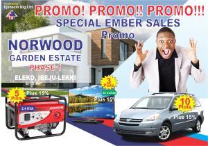 Serviced Residential Land Land for sale Norwood Gardens Facing Express Eleko Beside Amen Estate Phase 2 Eleko Ibeju-Lekki Lagos