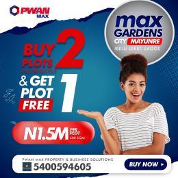 Residential Land Land for sale Mayunre, Ibeju Lekki Ibeju-Lekki Lagos