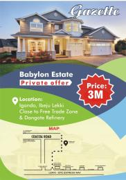 Residential Land Land for sale Igando  Ibeju-Lekki Lagos