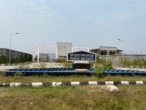 Residential Land for sale West Wood Park Estate Monastery road Sangotedo Lagos