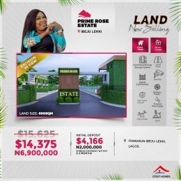 Residential Land for sale Prime Rose Estate Eleko Ibeju-Lekki Lagos