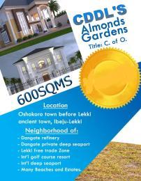 Mixed   Use Land Land for sale Almonds Gardens Estate, Oshokoro Town Free Trade Zone Ibeju-Lekki Lagos
