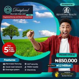 Residential Land for sale Daisyland Estate, Okun Iseki LaCampaigne Tropicana Ibeju-Lekki Lagos