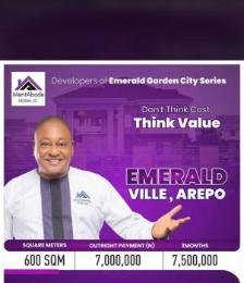 1 bedroom mini flat  Residential Land Land for sale Arepo Arepo Arepo Ogun