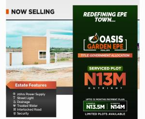 Residential Land for sale Oasis Garden, Poka, Epe Epe Lagos