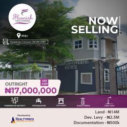 Serviced Residential Land Land for sale Flourish Gardens Abijo Ajah Lagos