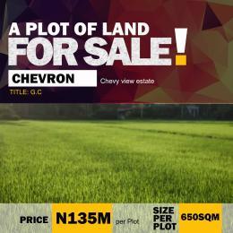 Residential Land for sale Chevy View Estate, Chevron chevron Lekki Lagos