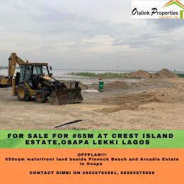 Residential Land Land for sale Behind Pinnock beach estate  Osapa london Lekki Lagos