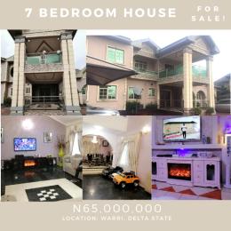 7 bedroom Detached Bungalow House for sale Warri Delta