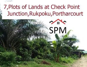 Land for sale Police Check Point Junction expressway Rupkpokwu Port Harcourt Rivers