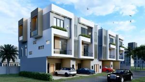 4 bedroom Terraced Duplex House for sale Off Lekki Expressway Lagos by Abraham Adesanya Road Lekki Phase 2 Lekki Lagos