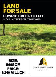 Residential Land for sale Cowrie Creek Estate Ikate Lekki Lagos