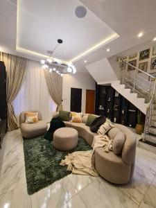 2 bedroom Terraced Duplex for shortlet Lekki Conservation Road chevron Lekki Lagos