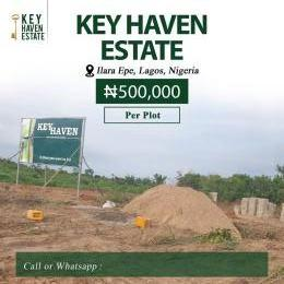 1 bedroom mini flat  Serviced Residential Land Land for sale Ilara town Epe Road Epe Lagos