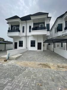 4 bedroom Semi Detached Duplex for rent Beside Pinnock Beach Estate Osapa london Lekki Lagos