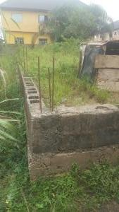 Land for sale Igondo Hall mark  Estate Akinso Egbeda Alimosho Lagos