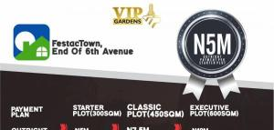 Residential Land Land for sale Vip Gardens; End Of 6th Avenue, Festac Amuwo Odofin Lagos