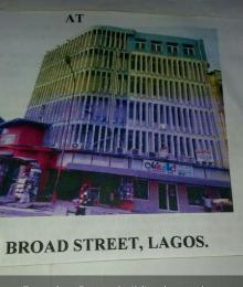Plaza/Mall Commercial Property for sale  Broad Street C.M.S; Lagos Island Lagos