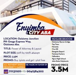 Residential Land for sale Abia State Polytechnic Osisioma Abia