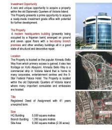 Office Space for sale Victoria Island Lagos